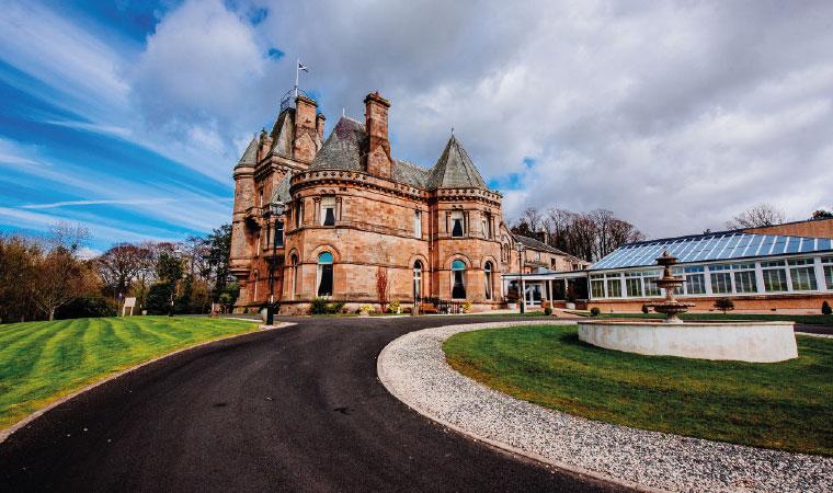 Cornhill Castle Hotel